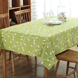 WEIWEI Embroidered Dining Table Padded Cotton Material Coffe