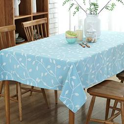 Embroidered dining table Padded cotton material Coffee table