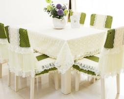 Embroidered White Lace Tablecloth Table Cloth Cover Outdoor