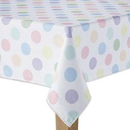 ep-kp144 Celebrate Together Easter Polka Dot Tablecloth 144