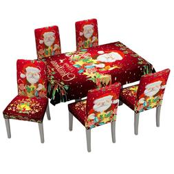 Europe New Year 3d Tablecloth Colored Christmas Tree Pattern