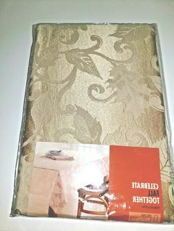 Fall Halloween Thanksgiving Cloth Tablecloth Leaves Oblong 6