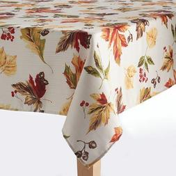 The Big One Fall Leaves Thanksgiving 60x102 Oblong Tableclot