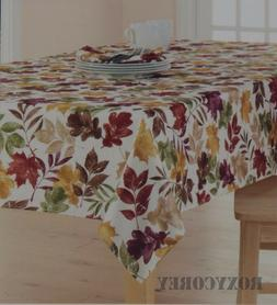 The Big One Fall Maple Leaf Leaves Thanksgiving 60x102 Oblon