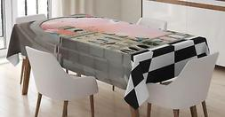 Fantasy Tablecloth Ambesonne 3 Sizes Rectangular Table Cover
