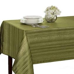 """Benson Mills Flow """"Spillproof"""" Fabric Tablecloth, 60X84 Inch"""