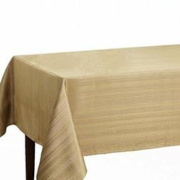 "Benson Mills Flow ""Spillproof"" Fabric Tablecloth, 52X70 Inch"