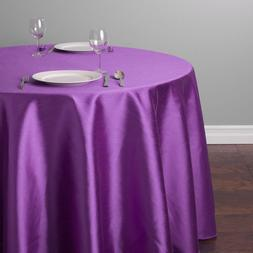 Free Shipping Solid Round Tablecloth For <font><b>Table</b><