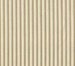 French Country Linen Beige Ticking Stripe Cotton 90 inch Rou