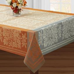 Benson Mills Gathering Engineered Jacquard Tablecloth  For H