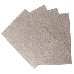 Creative Dining Group Glamour Woven Vinyl Placemat , Gold