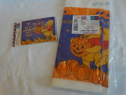 HALLOWEEN PARTY Paper TABLE CLOTH COVER Winnie the Pooh Pump