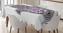 Hamsa Tablecloth Ambesonne 3 Sizes Rectangular Table Cover H