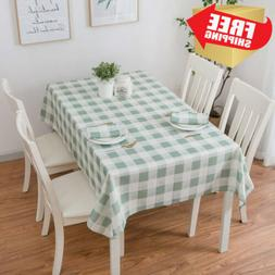 Eforcurtain Heavy Weight Classic Microfiber Table Cover Rect