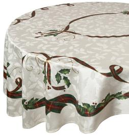 Lenox Holiday Nouveau 60 inches by 104 inches Tablecloth, Ov