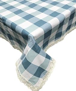 home cotton linen tablecloth embroidery
