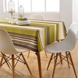 Home Tablecloth Waterproof Dust Proof Folding Washable Table