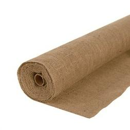"AK TRADING Natural Jute Burlap 60"" Wide x 100 Feet - 10oz Qu"