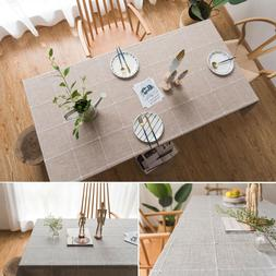 Kitchen Table Cloth Rectangle Tablecloth Tea Coffee Dining T