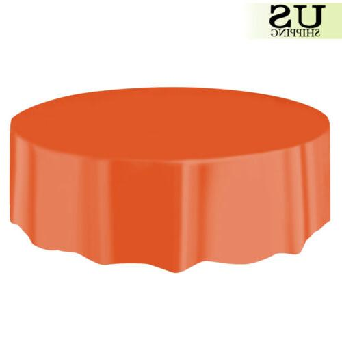 10/20 Plastic Table Cover Covers 84""