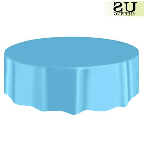 """10/20 Round Table Cover Cloth 84"""""""