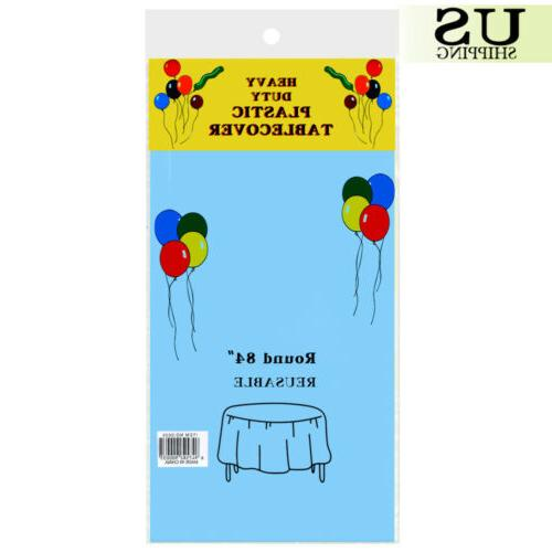 10/20 Pack Table Cover Cloth Covers Party 84""
