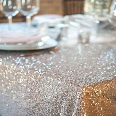 US Glitter Sparkly Table Rectangle Party