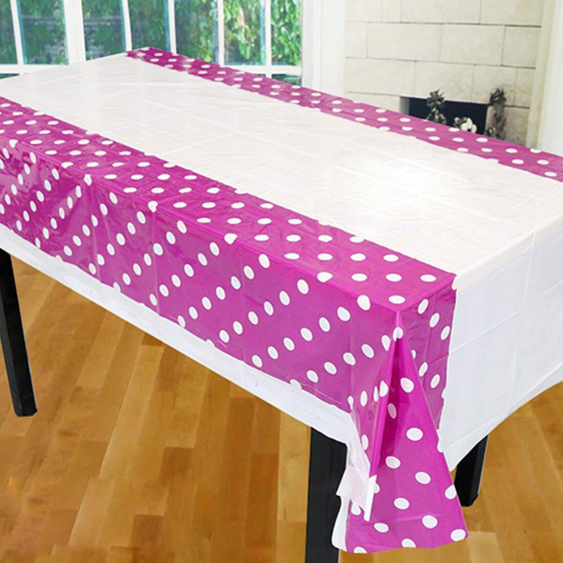 108 180CM <font><b>Cloth</b></font> <font><b>Plastic</b></font> Decoration Birthday Party Tablecloth