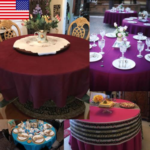 Table Cover Wedding Parties Holiday
