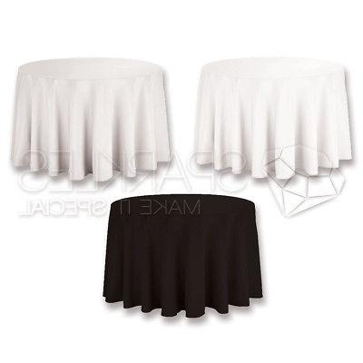 108 round tablecloth fabric linen cloth dinner