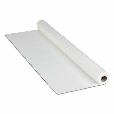 Hoffmaster 114000 Plastic Tablecover Roll, 300' Length x 40""