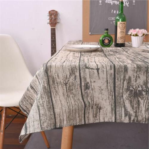 12 Size Bark Dining Cover Decor