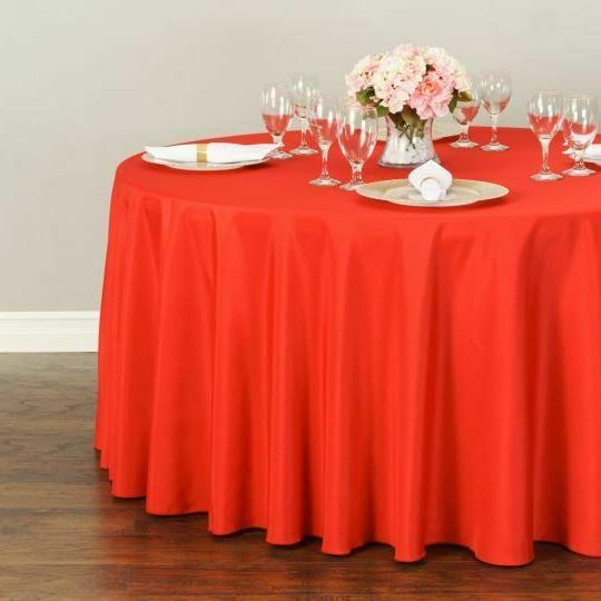 LinenTablecloth 120 in.Round Tablecloth 33 Party