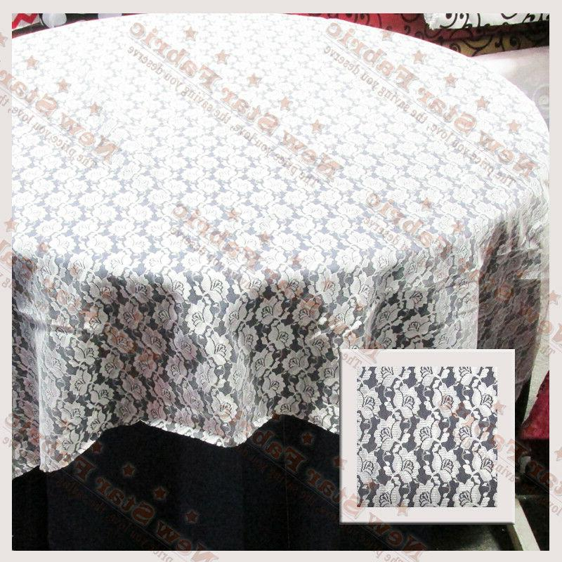 20 Table overlay 58 X 58 Inches Square Tablecloth Made in