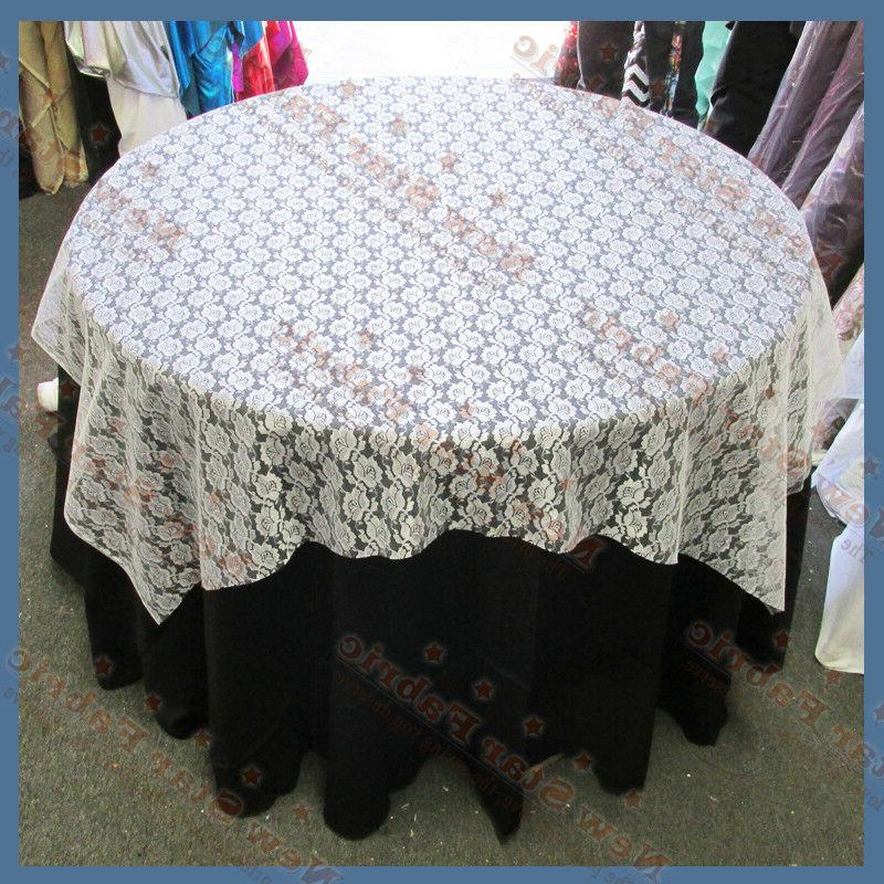 20 pieces lace table overlay 58 x