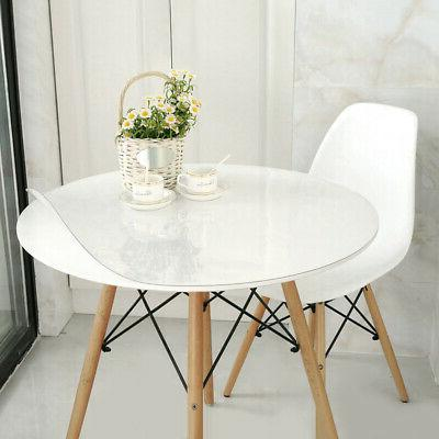 """24""""1.5mm Tablecloth Transparent Table Protector"""