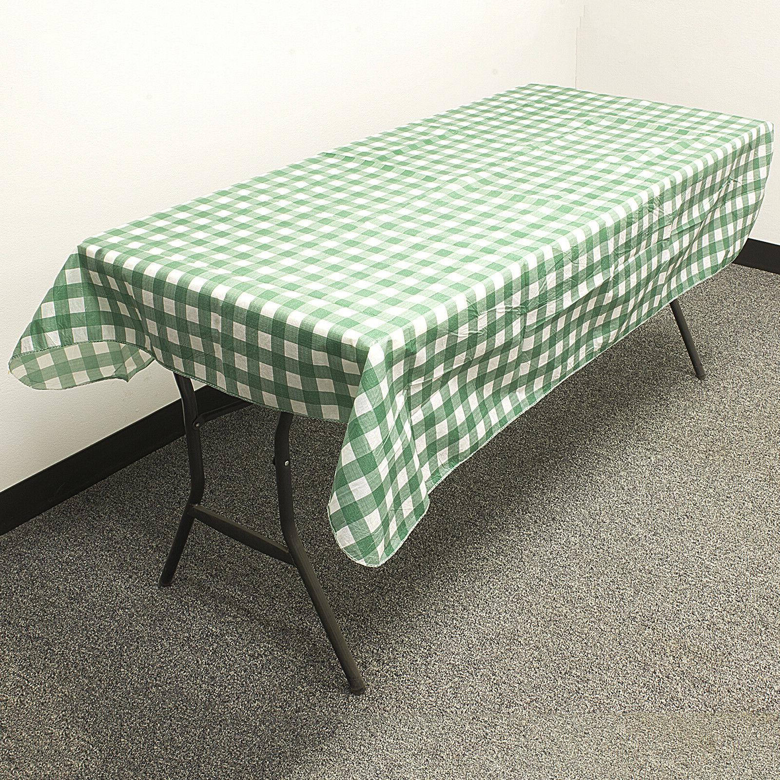 """3 PACK TABLECLOTH Reusable Parks Party 52"""""""