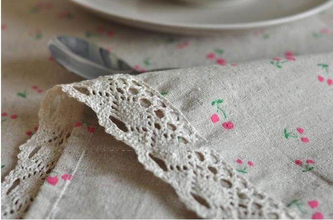 3 Styles Lace Linen <font><b>Table</b></font> <font><b>Cloth</b></font> Flower <font><b>Table</b></font> Cover GQ16