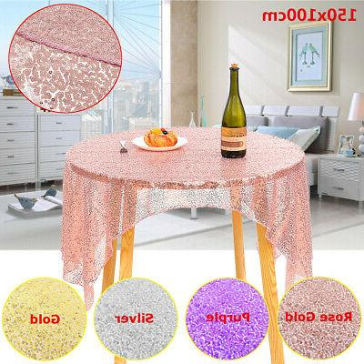 40*60'' Table Fabric Cover Banquet Party US
