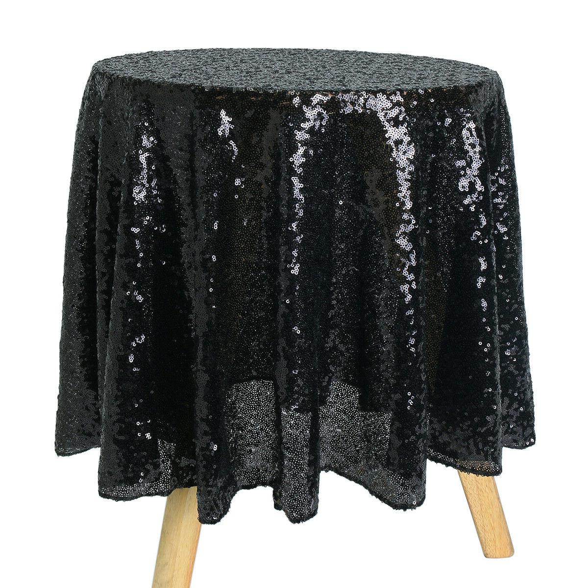 """48"""" Round Tablecloth Cover For Party Table"""