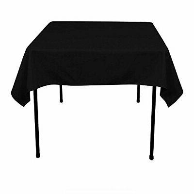 54 x 54 inch polyester tablecloth square