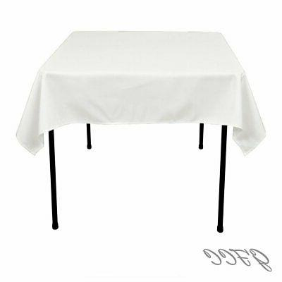GFCC x Seamless White Tablecloth for