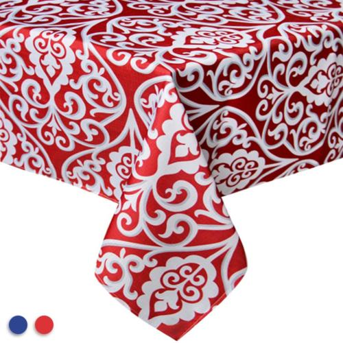 Eforcurtain 60 Inch By 102 Inch Fashion Damask Floral Tablec