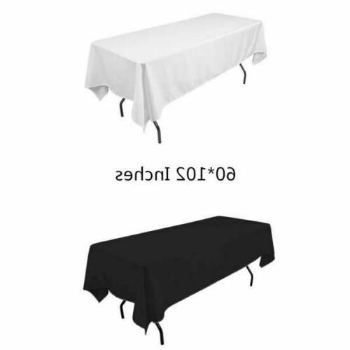 60 x102 rectangular tablecloth fabric linen cloth