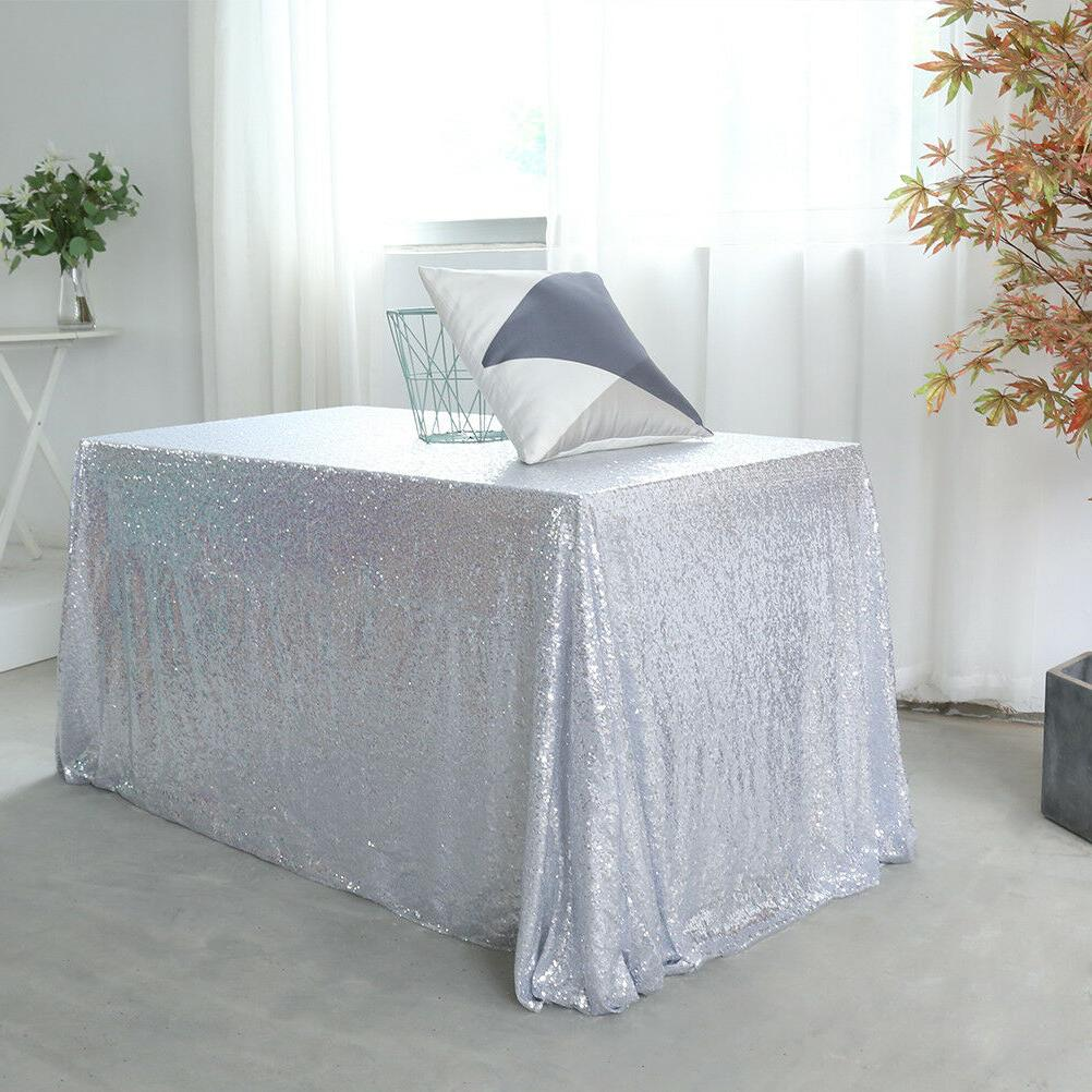 60''x120'' Sequin Shiny Party Cloth