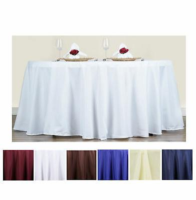 70 round polyester tablecloth