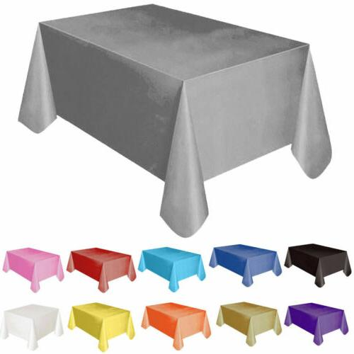 """72""""*54"""" Plastic Table Cover Party Covers"""