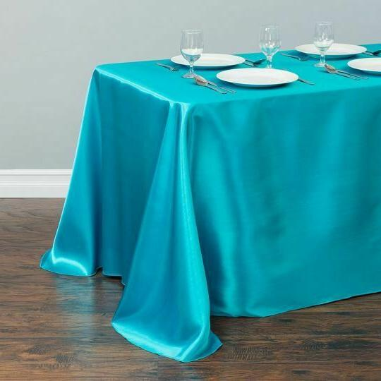 LinenTablecloth in. Satin Wedding Event