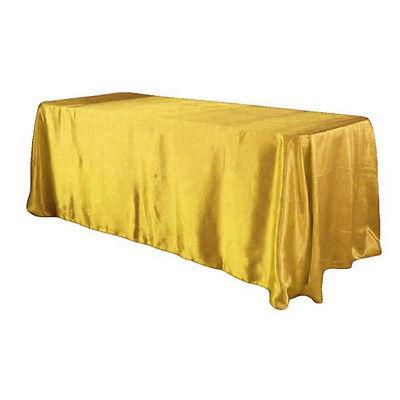 "90x132"" Satin Wedding Cover Banquet Party"