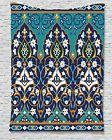 Ambesonne Moroccan Tapestry Wall Hanging  / Tablecloth / Blu